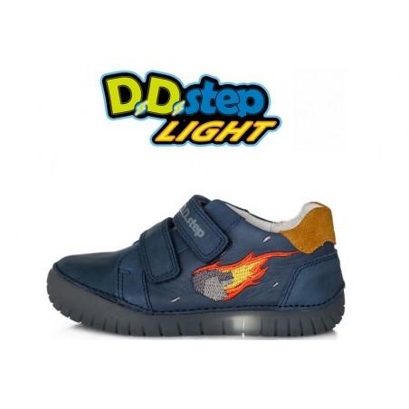 D.D.Step apavi zēniem  ar LED gaismu  05016L