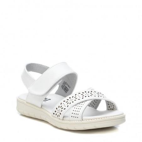 XTi sandales meitenēm White Textile