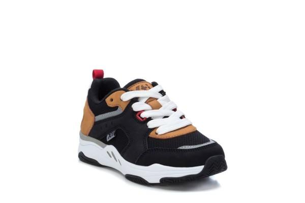 Xti ikdienas kurpes zēniem Black PU Combined